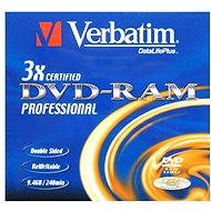 Verbatim DVD-RAM 3x, 1pc in a box - Media