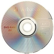 Verbatim DVD-RAM 3x, 3pcs in a SLIM box - Media