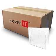 Slim box to 1pc - clear (transparent), 5.2 mm - CD Case
