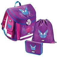 Baggymax - 3 Piece Set Canny Butterfly - School Bag