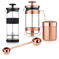 Barista & Co french press + foil + bucket and measuring cup - Gift Set