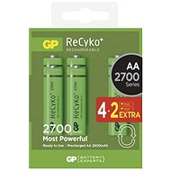GP Recyko HR6 (AA) 2700mAh 4 + 2pcs - Batteries