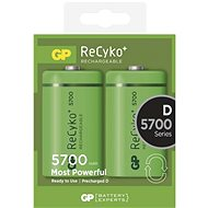 GP ReCyko HR20 (D) 5700mAh 2pcs - Batteries