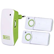 Emos P5741 White-green - Doorbell