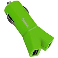 Hama Color Line USB 3.4A AutoDetect, green - Charger