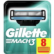 GILLETTE Mach3 8 pieces of spare heads - Men's shaver replacement heads