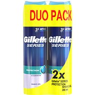 GILLETTE Series Gel Extra Protection 2 x 200ml - Shaving Gel