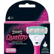 WILKINSON Quattro for Women 3 pcs - Women's Replacement Shaving Heads