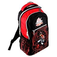 Bakugan black-red - School Bag