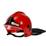 Klein Fire Helmet Red - Costume Accessory