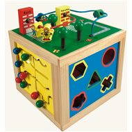 Bino Motor Cube - Didactic Toy