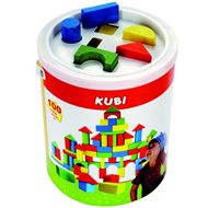 Bino Cubes in a bucket with a lid - Play Set
