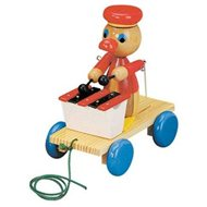 Bino Drag Racer with Xylophone - Push and Pull Toy