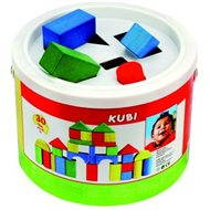 Bino Cubes in a bucket of 30 pieces - Building Kit