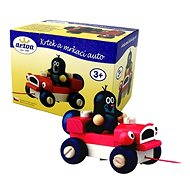Detoa Little and a wink car - Push and Pull Toy