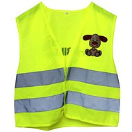 Reflective toggle vest with XS dog - Kids' Bike Accessories