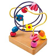 Woody Motorbike Labyrinth - Beads - Toy