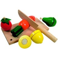Woody Sliced Fruit - Didactic Toy