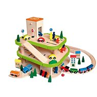 Woody Garage three-storey with accessories - Play Set
