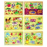 Woody Puzzle on Plate - Children's motives - Puzzle