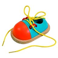Woody Lace Shoe - Didactic Toy