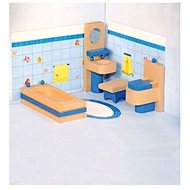 Woody furniture in the house - Bathroom - Doll Accessory