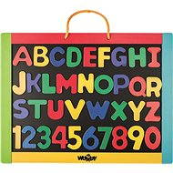 Woody Magnetic board with letters - Board