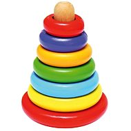Woody Magnetic pyramid - Didactic Toy