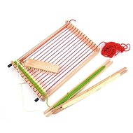 Woody loom with accessories - Didactic Toy