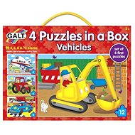 GALT 4 Puzzle in a box - means of transport - Puzzle
