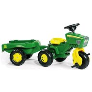 Tricycle J. Deere Trac with Trailer and Sound - Tricycle