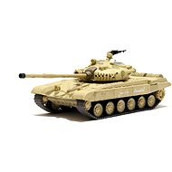 Russian Tank T-72 M1 Desert Yellow 1:72 - RC Model