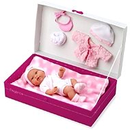 Teddies Doll / baby solid body with accessories - Doll