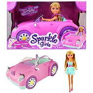 Sparkle Girlz doll in car - Doll