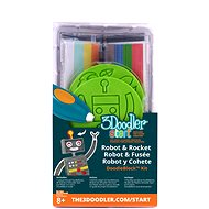 3Doodler Start - DoodleBlock Robot & Rocket - Creative Kit