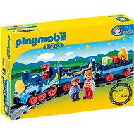 Playmobil 6880 My First Train with Rails (1.2.3) - Toddler Toy