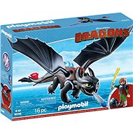 Playmobil 9246 Hiccup & Toothless - Building Kit