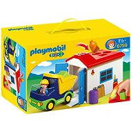 Playmobil 6759 Truck with Garage (1.2.3) - Toddler Toy