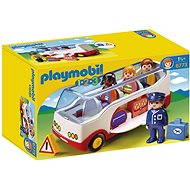 Playmobil 6773 1.2.3 Airport Shuttle Bus - Toddler Toy