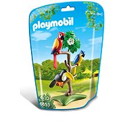 Playmobil 6653 Parrots and tukan on a tree - Building Kit