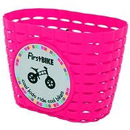 FirstBike basket pink - Bike Basket