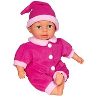 Adelka doll with 24 functions in pink - Baby