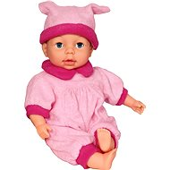 Adelka doll with 24 functions in light-pink - Baby