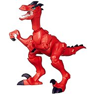 Jurassic World Hero Masher - Dinosaur Velociraptor - Figure