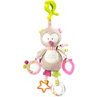 Nuk Forest Fun - Sovicky with a clip - Crib Toy