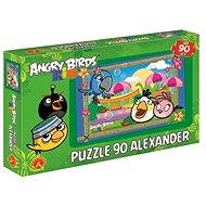 Angry Birds Rio - At the market in Rio 90 pieces - Puzzle