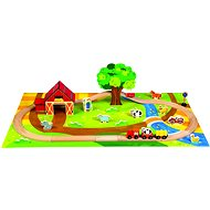 Bino Wooden train sets - Country - Train Set