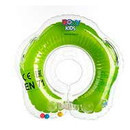 Floating neck collar Flipper green - Inflatable Toy
