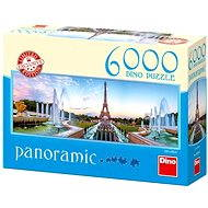Dino View of the Eiffel Tower - Puzzle