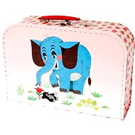 Child's briefcase - Little girl and elephant - Kids' Briefcase